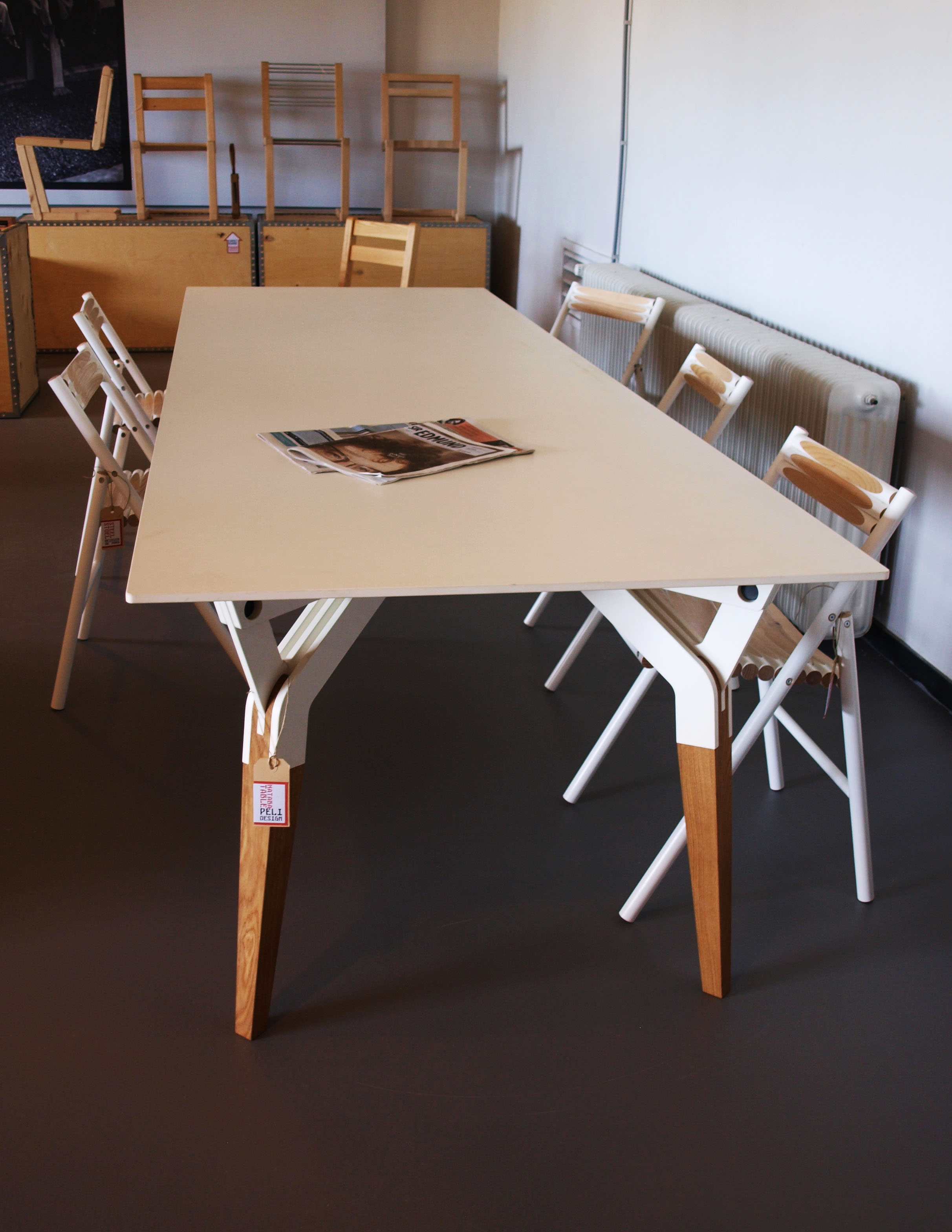 Kataba table dutch design week 2014 for Table design 2014